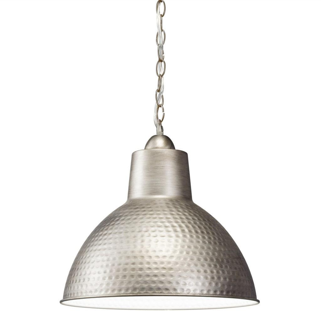 Shop Black Friday Deals On Kichler Lighting Missoula Collection 1 Light Antique Pewter Pendant Overstock 13385595