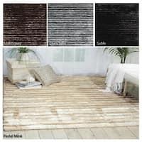 Rug Squared Nashville Textured Shag Area Rug (5'6 x 7'5)