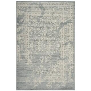 Safavieh Adirondack Vintage Distressed Slate Grey / Ivory Rug (3' x 5')