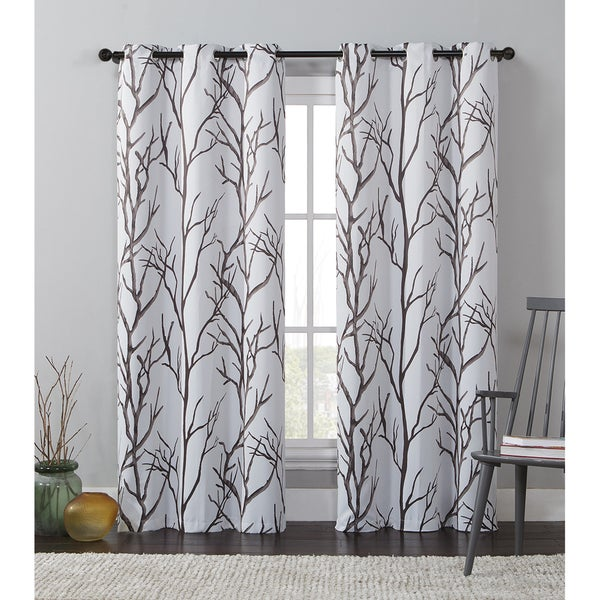 Shop Vcny Keyes Printed Blackout Curtain Panel 84 Quot In
