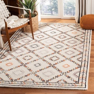 Safavieh Handmade Bellagio Hassie Modern Oriental Wool Rug