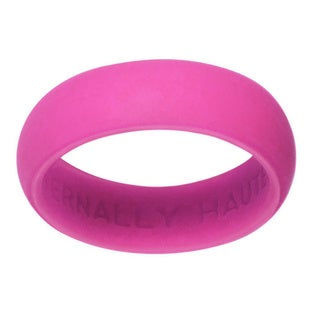 Eternally Haute 5.5 mm Pink Silicone Wedding Band