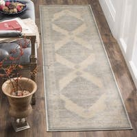 Safavieh Paradise Watercolor Vintage Cream Viscose Runner Rug
