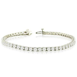14k White Gold 8ct TDW Round Diamond Tennis Bracelet - White J-K|https://ak1.ostkcdn.com/images/products/13386234/P20084041.jpg?impolicy=medium