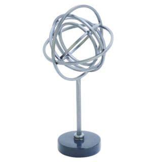 Benzara Metal/Marble 12-inch H x 6-inch W Sculpture