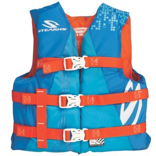 Coleman Stearns Watersport Classic Series Youth Vest (Option: Yellow)