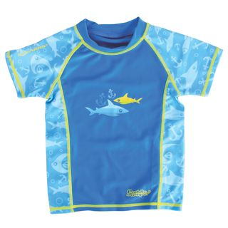 Coleman Children's Stearns Multicolor Polyester and Spandex Swim Shirt