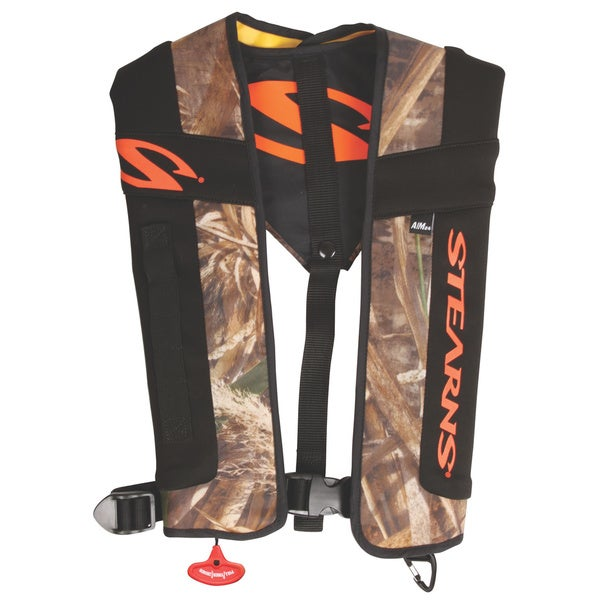 Coleman Stearns FastPak Sportsman 24 Multicolor Nylon Automatic/Manual Inflatable Life Jacket