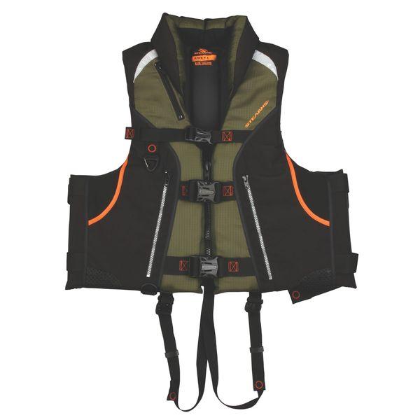 Stearns Trophy Series Black Life Vest