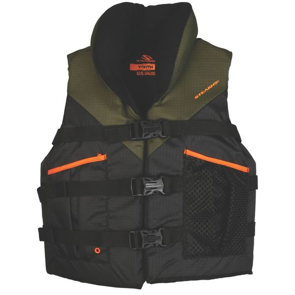 Stearns Youth Nylon and PVC High-performance Life Vest