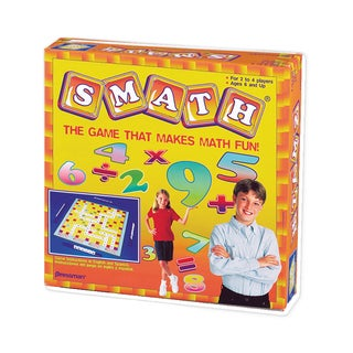 Pressman Toy Smath Math Skills Board Game