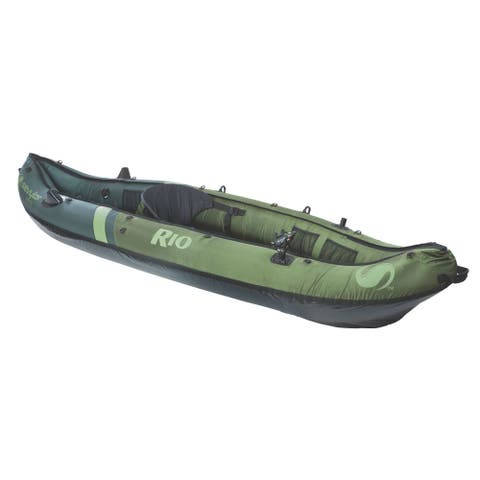 Coleman Sevylor Rio 1-person Fishing Canoe - Green