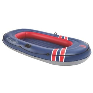 Coleman Sevylor Caravelle 300 Blue and Red PVC 3-Person Boat