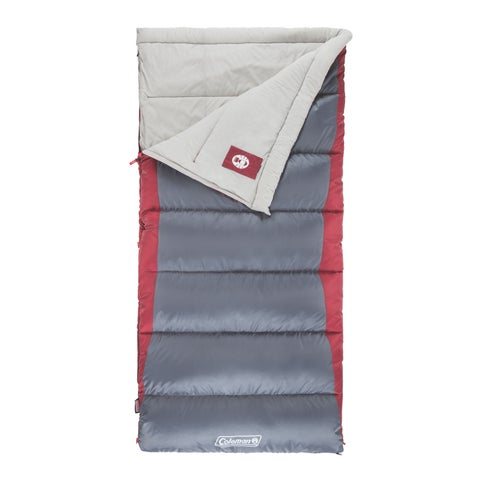 Coleman Autumn Glen 50 Multicolor Synthetic Big and Tall Sleeping Bag