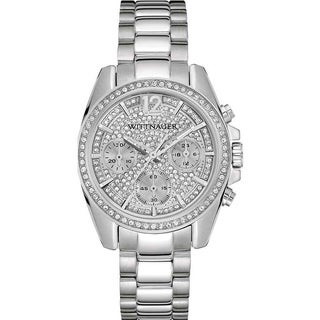 Wittnauer Women's WN4077 Stainless Steel Chronograph Watch