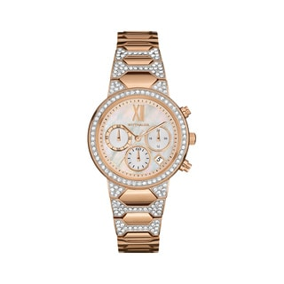 Wittnauer Women's WN4068 Rose Mother of Pearl CA Bracelet Watch