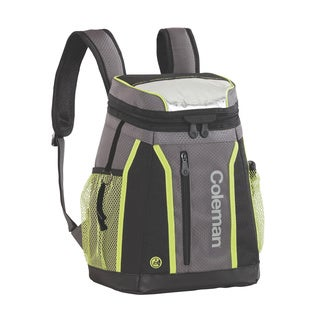 Coleman Ultra Ripstop Fabric 24-hour 18-can Backpack Cooler - Grey