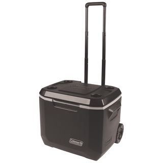 Coleman Black 50-quart Xtreme 5-wheeled Cooler
