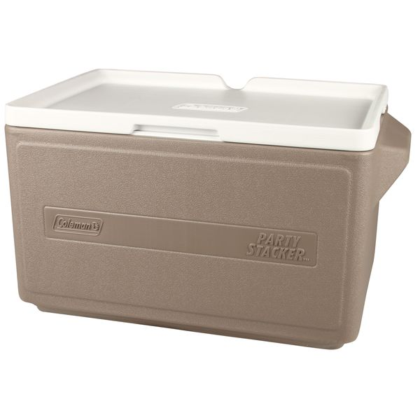 Coleman 48-can Party Stacker Cooler. Opens flyout.