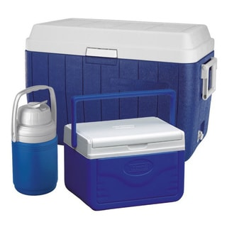 Link to Coleman 3-piece 54-quart Cooler Combo Similar Items in Camping & Hiking Gear