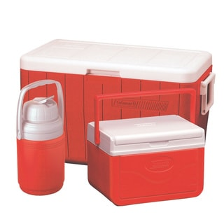 Link to Coleman 3-piece 48-quart Cooler Combo Similar Items in Camping & Hiking Gear