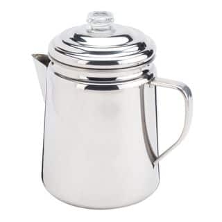 Coleman 12-cup Stainless Steel Percolator|https://ak1.ostkcdn.com/images/products/13387009/P20084752.jpg?impolicy=medium