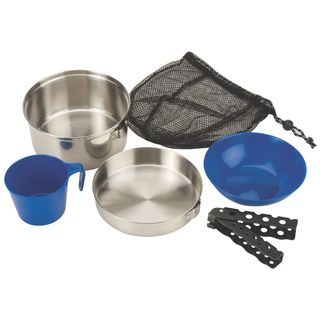 Link to Coleman Stainless Steel 6-piece Mess Kit Similar Items in Camping & Hiking Gear
