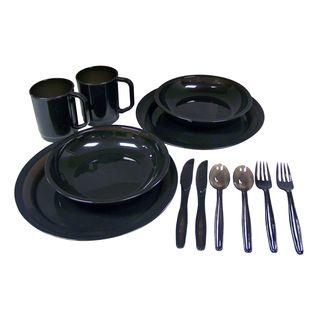Coleman Plastic 2-person Dinner Set