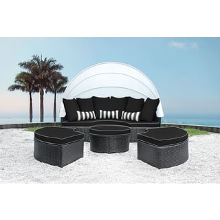 Solis Sombra 4-Piece Black and White Daybed|https://ak1.ostkcdn.com/images/products/13387843/P20085196.jpg?impolicy=medium