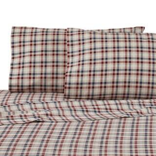 IZOD Flannel Sheet Set