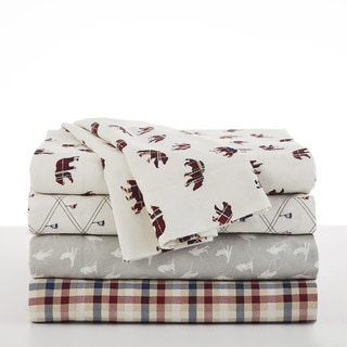 IZOD Flannel Sheet Set
