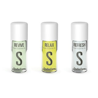 Swizz Style Revive, Refresh and Relax 0.33-ounce Essential Oil Kit
