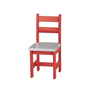 Children's REAL WOOD Square Seat Chair (More options available)
