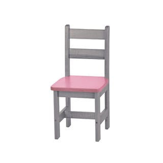 Children's REAL WOOD Square Seat Chair