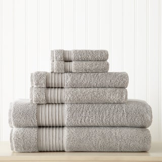 6-Piece 100 Turkish Cotton 700 GSM Towel Set