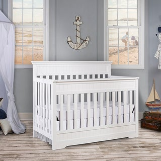 Dream On Me Chesapeake Snow Fall 5-in-1 Convertible Crib