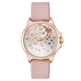 Women's 1901450 Goldplated Watch with Pink Silicon Strap