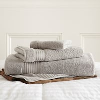 Amraupur Overseas 3-Piece 100% Turkish Cotton 700 GSM Towel Set