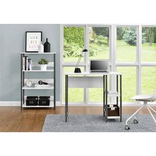 Altra Garrett Metal Student Desk and Bookcase Combo