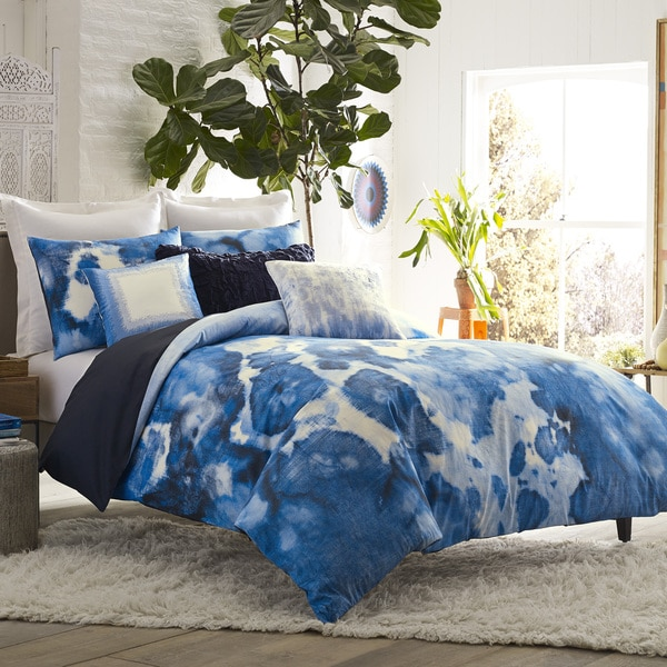 Blissliving Home Casa Azul 3pc Duvet Set