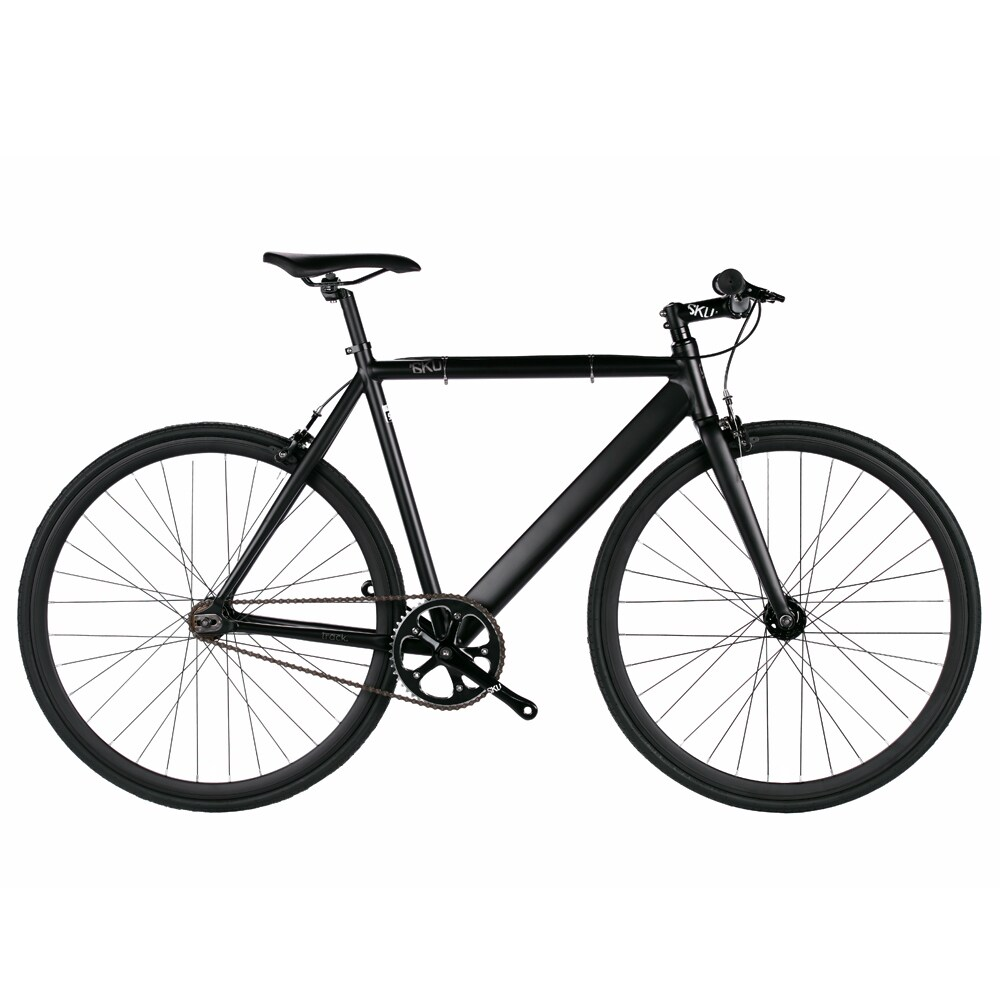 Enterprises 6KU Black Aluminum Single-speed Fixie Urban T...
