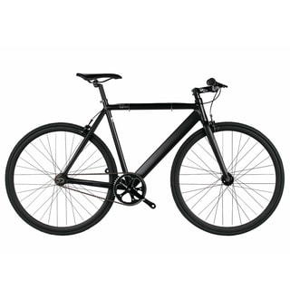 Black Unisex 6KU Aluminum Single-speed Fixie Urban Track Bike