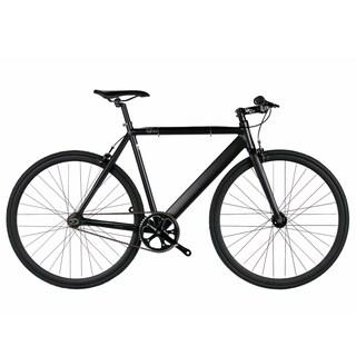 6KU Black Aluminum Single-speed Fixie Urban Track Bike