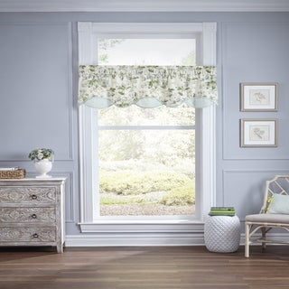 Waverly Fleuretta Cotton Window Valance