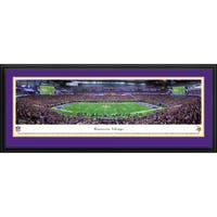 Blakeway Panoramas 'Minnesota Vikings - 1st Game at US Bank Stadium' Framed NFL Print