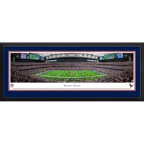 Blakeway Panoramas Houston Texans Framed NFL Print