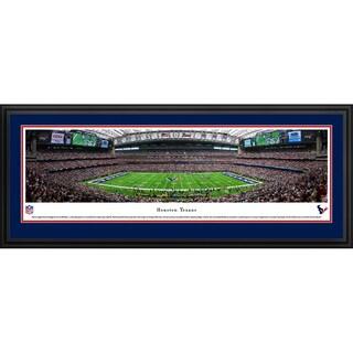 Blakeway Panoramas 'Houston Texans - 50 Yard Line' Framed NFL Print