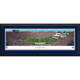 Blakeway Panoramas 'Los Angeles Rams - 50 Yard Line' Framed NFL Print|https://ak1.ostkcdn.com/images/products/13391564/P20088815.jpg?impolicy=medium