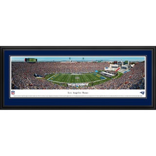 Blakeway Panoramas 'Los Angeles Rams - 50 Yard Line' Framed NFL Print