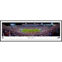 Blakeway Panoramas Buffalo Bills 50 Yard Line Framed NFL Print